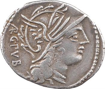 Sentius, denier, Rome, 101 av. J.-C.