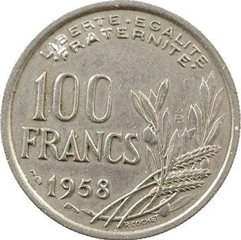 IVe République, 100 francs Cochet, 1958 Beaumont-le-Roger