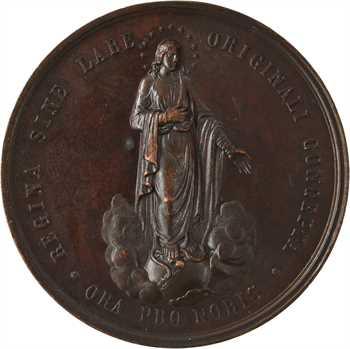 Vatican, Léon XIII, hommage à la Vierge Marie, s.d. Rome