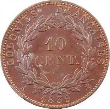 Louis-Philippe, 10 centimes des colonies françaises (Guadeloupe), 1839 Paris
