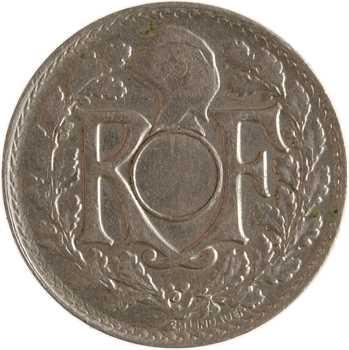 IIIe République, 10 centimes Lindauer, 1923 Poissy, variété non trouée