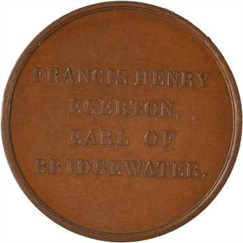 Royaume-Uni, Francis Henry Egerton, comte de Bridgewater, par Donadio, s.d. (c.1829)