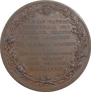 Louis XVI, victoires du Bailly de Suffren dans l'Océan indien, 1781-1784