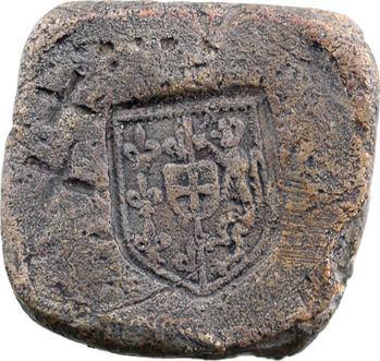 Grande Bretagne, Édouard III ?, poids de scellé de sac, s.d