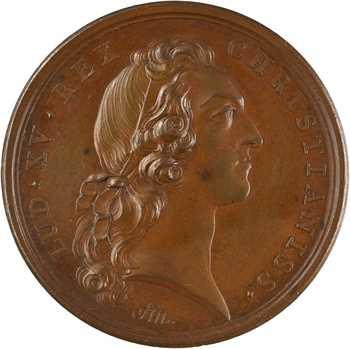 Louis XV, la victoire de Raucoux (Rocourt – Rocoux), 1746 Paris