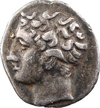 Marseille – Massalia, obole au type d'Apollon, c.350-220 av. J.-C.
