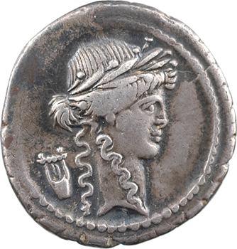 Claudia, denier, Rome, 42 av. J.-C.