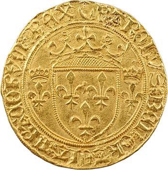 Charles VII, écu d'or à la couronne 3e type, 1re émission, Châlons-en-Champagne