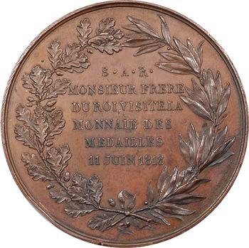 Médaille de visite à la Monnaie, Charles-Philippe de France, 1818 Paris