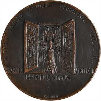 Vatican, Paul VI, Conseil œcuménique Vatican II, par Scorrelli et Senesi, 1963