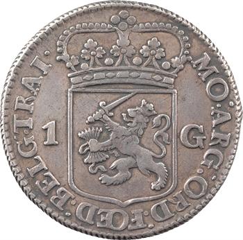 Pays-Bas, Utrecht, florin ou gulden, 1764
