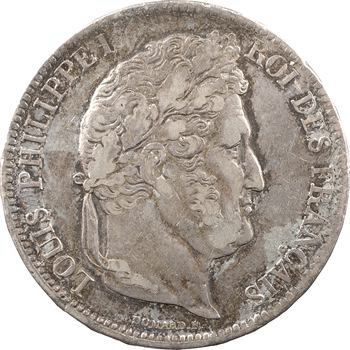 Louis-Philippe Ier, 5 francs IIe type Domard, 1835 Marseille