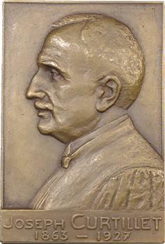 Médecine, docteur Joseph Curtillet, chirurgien, par Bidercq ?, 1927