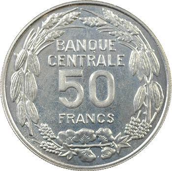 Cameroun (République du), essai de 50 francs, 1960