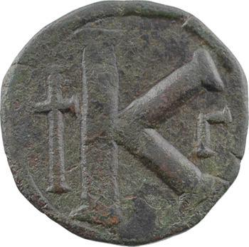 Anastase, demi-follis, Constantinople, 3e officine, 512-517