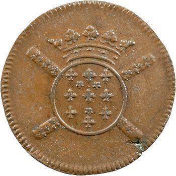 Louis XIV, siège de Lille, X sols, 1708 Lille