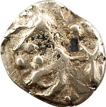 Rèmes, quart de statère dit aux arcs de cercle, classe II, c.80-50 av. J.-C