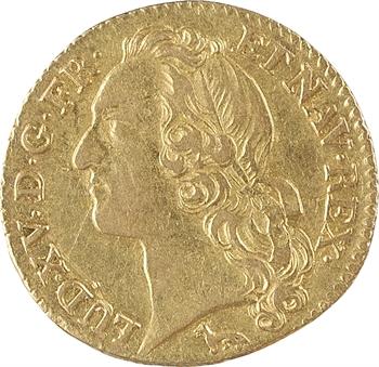 Louis XV, louis d'or au bandeau, 1753, 2d semestre, Paris