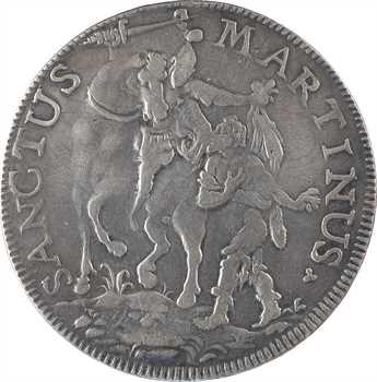 Italie, Lucques (République de), écu au Saint Martin, 1741 Lucques
