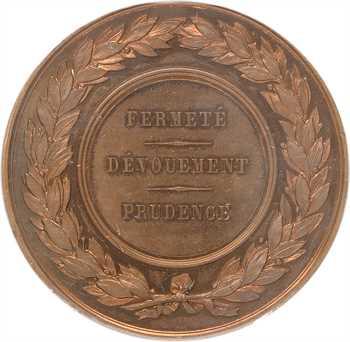 Égypte, colonie française d'Alexandrie, au chancelier Rouhaud, 1882 Paris, PCGS SP64