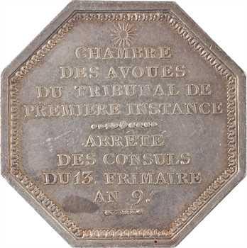 Consulat, Chambre des avoués du tribunal de Première instance, 1802 Paris