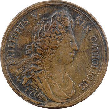 Espagne, Philippe V, libération de Mantoue et Crémone et prise de Guastalla, 1703
