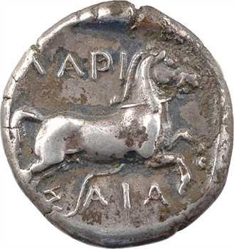 Thessalie, Larissa, drachme, c.440-400 av. J.-C.