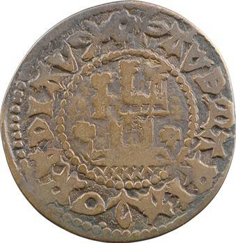 Moyen-Âge, Tournai, jeton de compte à la tour brisée, imitation nurembergeoise ?