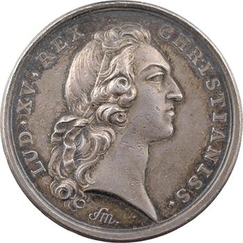 Louis XV, prise de six villes de Flandre, par Marteau, 1746 Paris