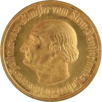 Allemagne, Westphalie (province de), 10 000 mark, 1923