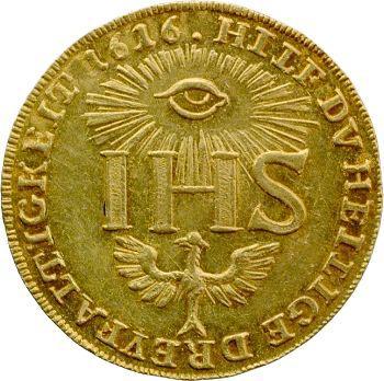 Allemagne, Saxe (duché de), Sophie, ducat, 1616