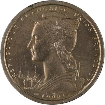 A.E.F. Union française, essai de 2 francs, 1948 Paris