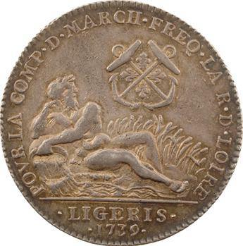 Orléanais, compagnie des marchands de la Loire, 1739 Paris