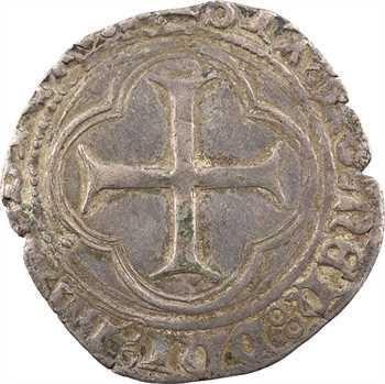 Charles VIII, blanc au soleil, Troyes