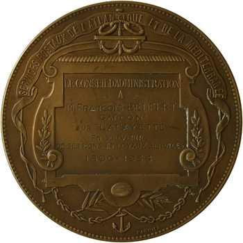 IIIe République, la C. G. T. à M. Bedfert, 38 ans de service sur le Lafayette, 1896-1934 Paris