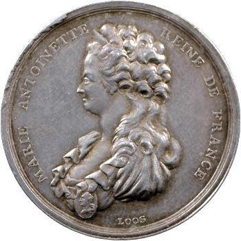 Louis XVI, la mort de Marie-Antoinette, par Loos, s.d. (c.1793) Berlin