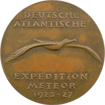 Allemagne, l'expédition océanographique atlantique Meteor, 1925-1927