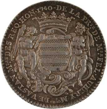 Paris (ville de), Félix Aubery, prévôt des marchands, 1740 Paris