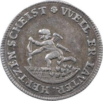 Allemagne, Saxe (principauté de), Frédéric-Auguste Ier, médaillette aux Amours