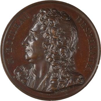 Nicolas Boileau, par Caunois, 1817 Paris (Galerie métallique des grands Hommes Français)