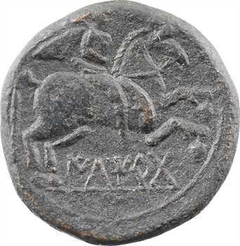Espagne, Ilergètes, as de bronze, série légère, Lerida (Iltirta), c.104-80 av. J.-C