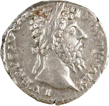 Lucius Verus, denier, Rome, 168