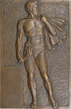 Pelletier (R.) : le porteur de flamme aux Jeux Olympiques par Raymond Pelletier, s.d. Paris