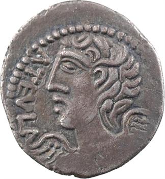 Rèmes, denier ATEVLA/ VLATOS, au trèfle à quatre feuilles, classe I, c.60-30 av. J.-C.
