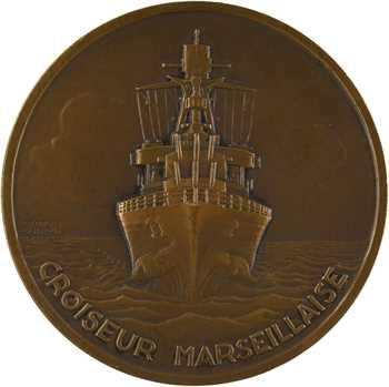Guiraud (G.) : Rouget de Lisle et le croiseur Marseillaise, s.d. (1936) Paris