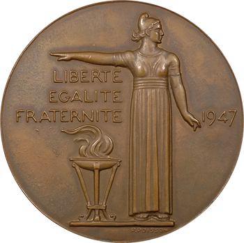 IVe République, Vincent Auriol, par P.-M. Poisson, 1947 Paris