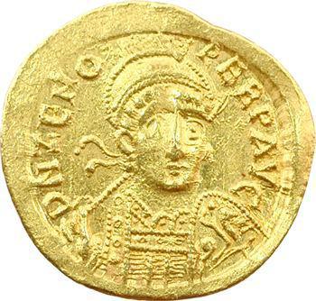 Zénon, solidus, Constantinople, 476-491