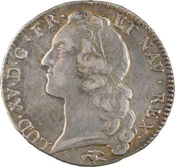 Louis XV, écu au bandeau, 1768 Lyon
