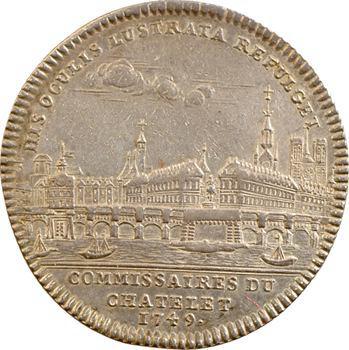 Paris, commissaires du Châtelet, Daminois, 1749 Paris