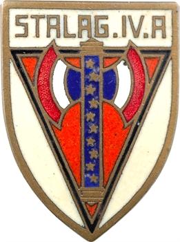 IIe Guerre Mondiale, insigne, Stalag IV A, s.d. Paris (Drago)